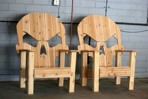 Skull Adirondack Chair Plans by Skull Throne Local Up Only By Wileyconcepts On Etsy