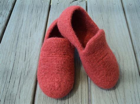 Womens Loafer Slippers Felted Knit By Moniquerae Craftsy