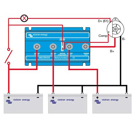 boat dual battery isolator wiring diagram estrategys co