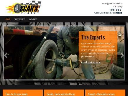 oscars  tires sales  service rockford il