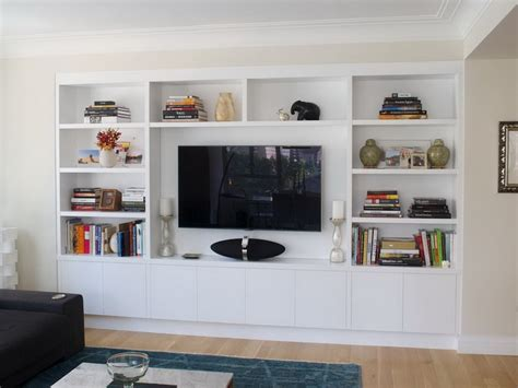 wall media unit wall modern media entertainment wall unit white wall