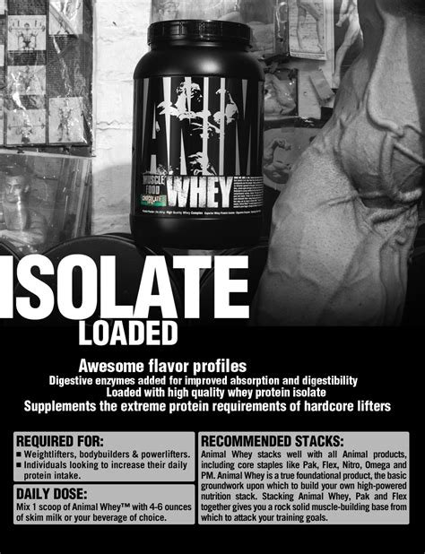 Animal Whey Chocolate universal nutrition animal whey protein whey protein