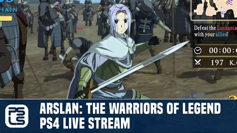 Kaset Ps4 Arslan The Warriors Of Legend arslan the warriors of legend ps4 live