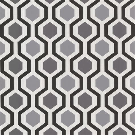 black and white geometric wallpaper uk 347 20133 marina modern geometric black and white trellis