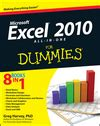 Word 2010 All In One For Dummies excel 2010 all in one for dummies book information for