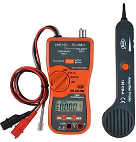 Sew 180 Cb Cable Tracer Lifier Probe Tone Generator Asli 100 cable tracer