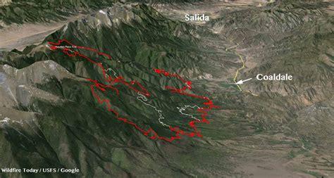 colorado wildfire map colorado wildfire today