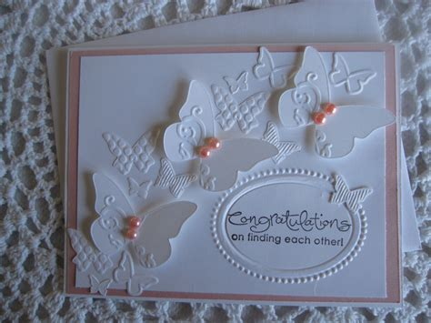Handmade Wedding Cards Etsy - handmade greeting card wedding engagement by conroyscorner