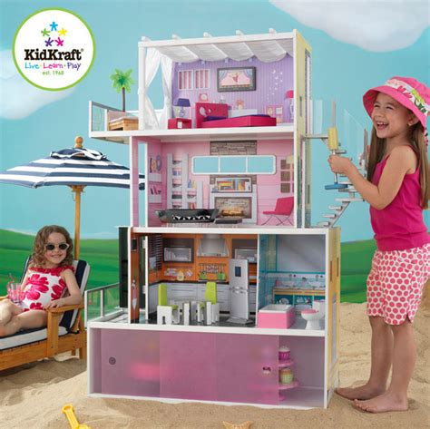 doll house dallas kidkraft beachfront mansion dollhouse raving toy maniac