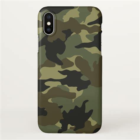 cool green khaki camo camouflage pattern glossy iphone