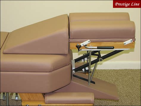 Chiropractic Table Upholstery by 4 Drop Chiropractic Table Prestige Line