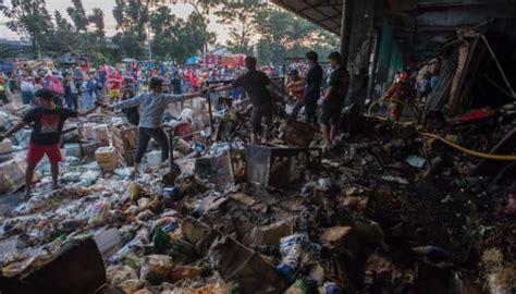 Kerang Di Pasar Kramat Jati kebakaran di pasar induk kramat jati hanguskan 90 kios foto tempo co