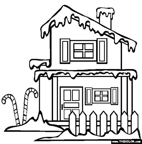 coloring pages of santa s workshop santa s workshop christmas village coloring merry