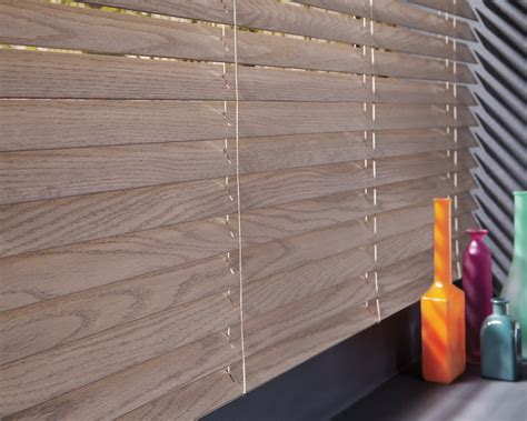 echtholz jalousie wood vs faux wood blinds custom blinds chatham nj