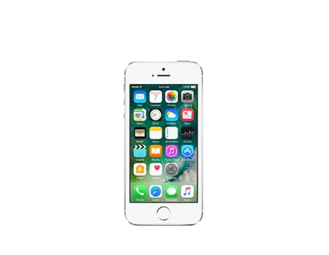 Iphone 5s 64gb Silver apple iphone 5s certified like new cell phone from at t