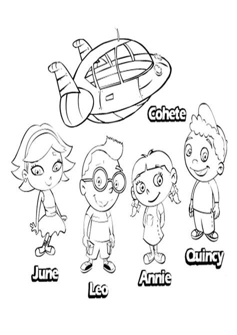 dibujos para colorear de little einsteins adisney dibujos para colorear de little einsteins adisney