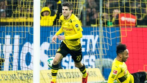 christian pulisic vs hoffenheim bundesliga borussia dortmund vs hoffenheim as it