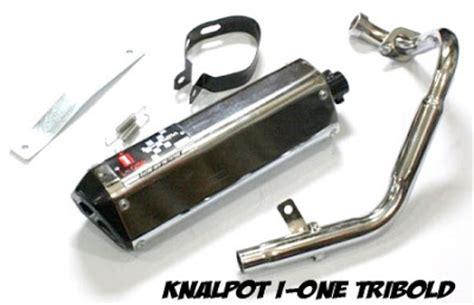 Knalpot I One Racing Pelangi Model R9 Bebek Laki 1 voluci knalpot untuk motor satria f150