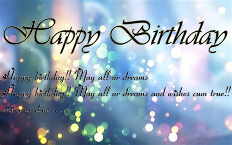 Happy Birthday Wishes Pics Happy Birthday Wishes For Lover Wallpaper And Quotes