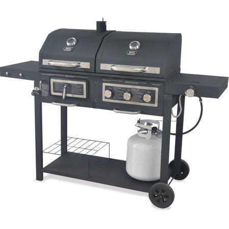 backyard grill dual gas charcoal grill walmart inventory