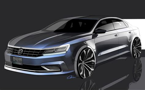 volkswagen passat 2018 2018 vw passat redesign usa release date cars coming out