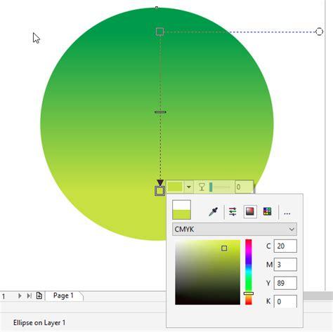 warna map untuk membuat kartu kuning membuat background dua warna corel draw dodo grafis