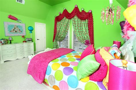 candy bedroom candy inspired girl s room eclectic bedroom dallas