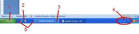 barra de herramientas superior windows 7 tic 180 s diro windows xp cap 237 tulo iii