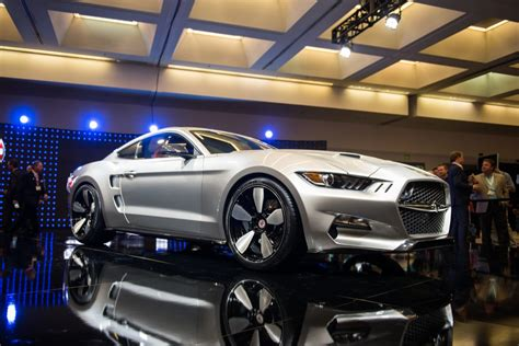 galpin mustang galpin rocket mustnag unveiled at los angeles auto show