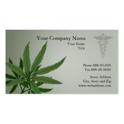 marinuana card template marijuana business cards cannabis business cards