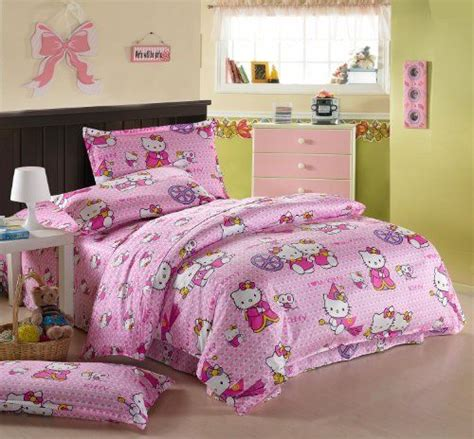 Hello Size Bedding by Hello Bedding Set Pink Princess Hello Bedding