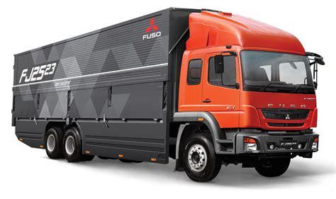 mitsubishi truck indonesia fuso fj2523 truck debuts in indonesia komarjohari