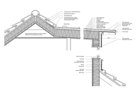 Section Through Dormer Window Loft Conversion Architects Drymen Zwei Architects