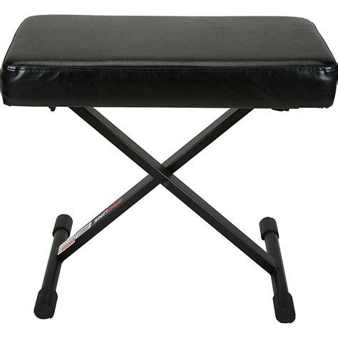 proline piano bench proline pl1250 keyboard bench with memory foam music123