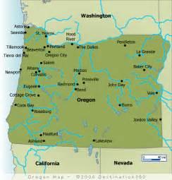 map of oregon coast towns oregon map oregon coast map
