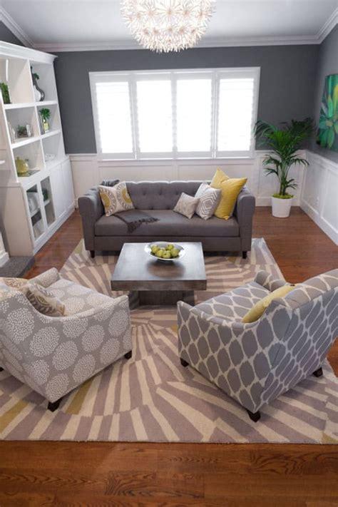 modern  fresh interiors showcasing gray paint