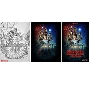 Stranger Things Poster Began As Sketch Created With IPad Pro And
