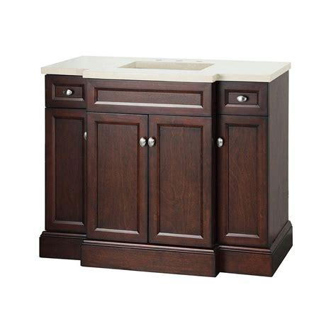 Foremost Bathroom Teagen 42 in. Vanity in Dark Espresso