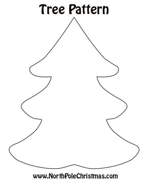 christmas tree 3 print pattern