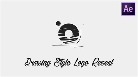 tutorial intro after effects logo hand drawn logo intro after effects tutorial youtube