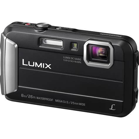 canon lumix digital panasonic lumix dmc ts30 digital black dmc ts30k b h