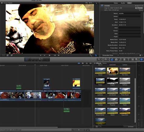 final cut pro video effects first look final cut pro x macworld australia