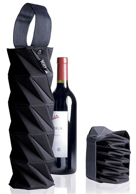 Origami Wine Bottle - built ny origami wine chagne tote notcot