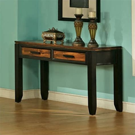 espresso sofa table steve silver company abaco sofa table in espresso ab600s