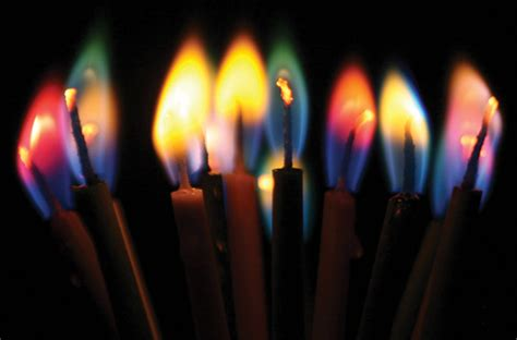 candele color chemistry colorflame candles