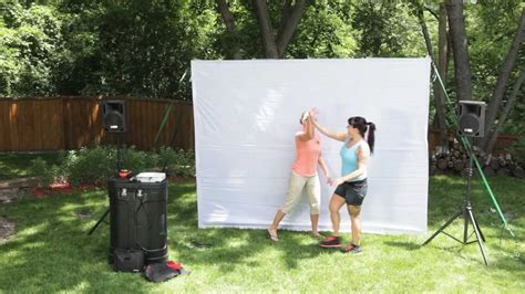 backyard theater systems youtube