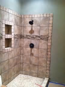 Master Bathroom Shower Tile Ideas Master Bathroom Tiled Shower Bathroom Ideas Pinterest