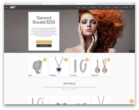 Hybrid Ecommerce The Future Of The Jewellery Industry London Diamond Emerald Exchange Clothing Brand Website Template
