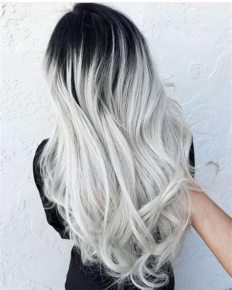 Haare Färben by Best Of Lange Graue Haare Grafiken