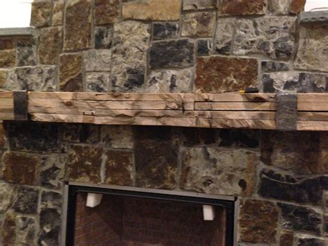 Reclaimed Wood Fireplace Mantels by Reclaimed Wood Fireplace Mantels Mr Timbers